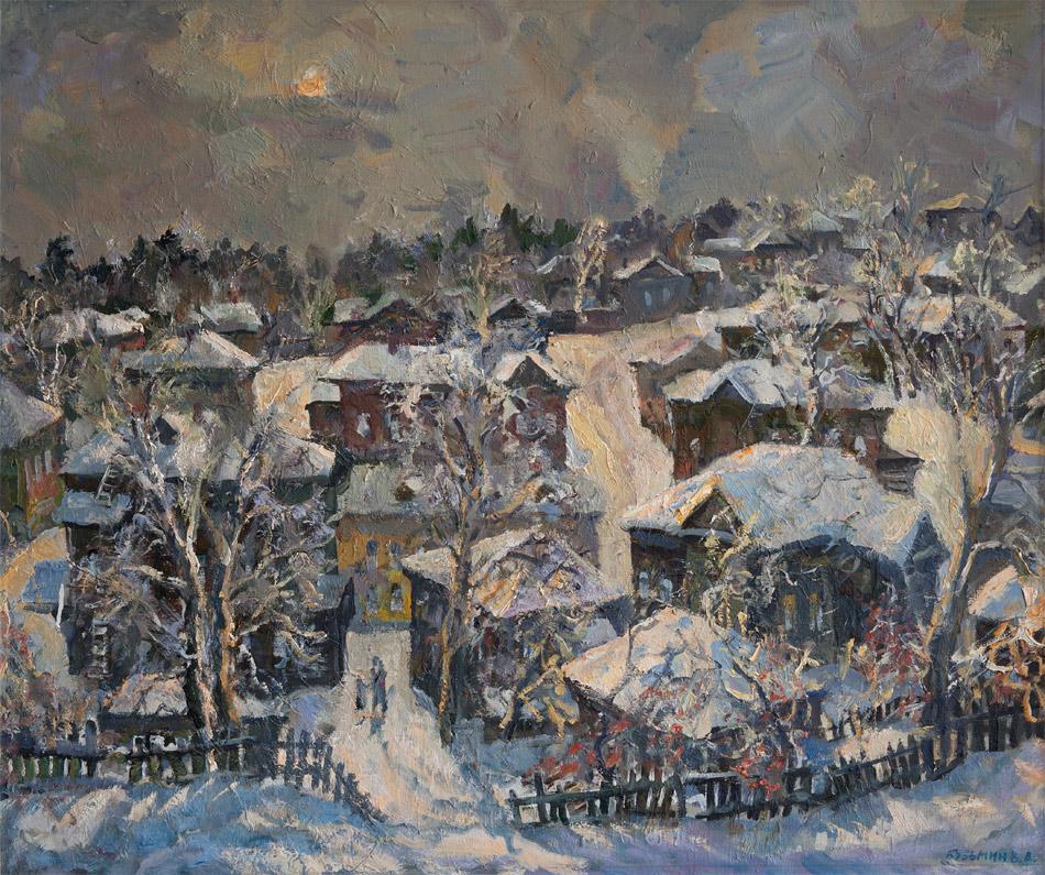 Зима. 1993, х. м., 90х105