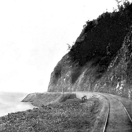 Кругобайкальская железная дорога. 1905 г.