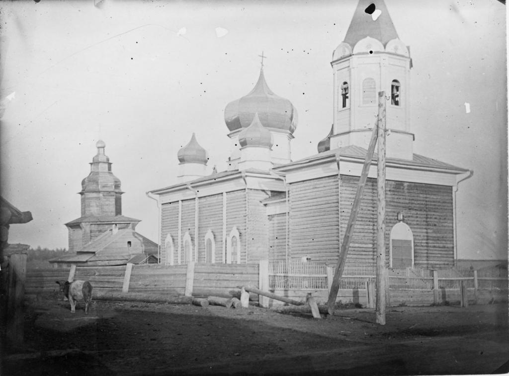 Церковь под Иркутском, конец 19 века