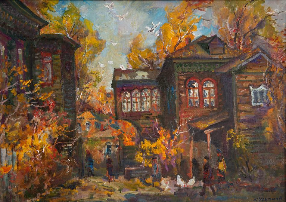 Улица Матренинская. 2006, х. м., 50х70
