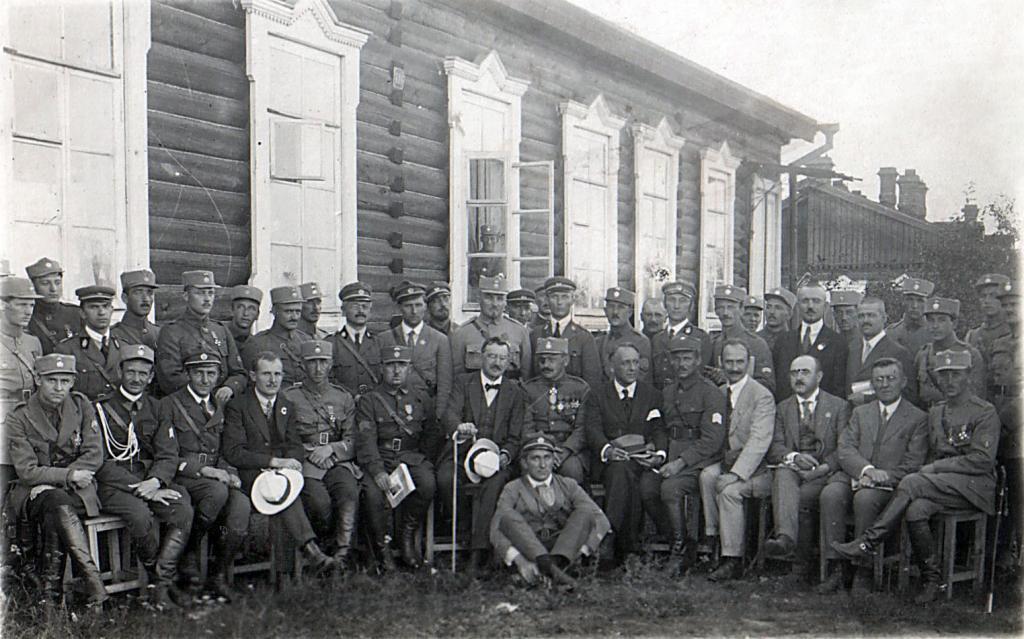 27 августа 1919 года в город прибыла делегация чехословацкого национального собрания к чехословацким войскам в Сибири