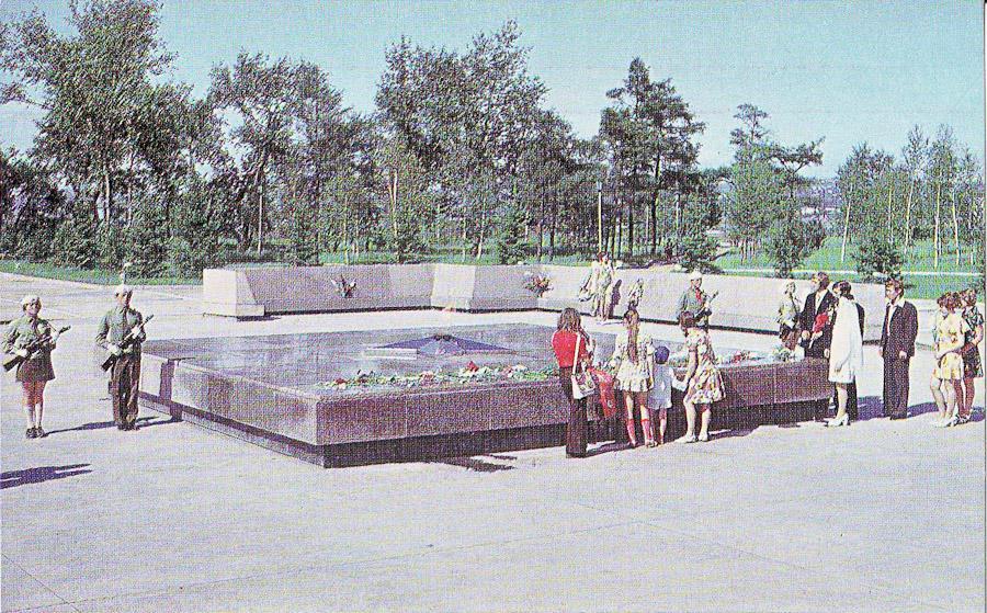 Мемориальный комплекс. Иркутск, 1976 год