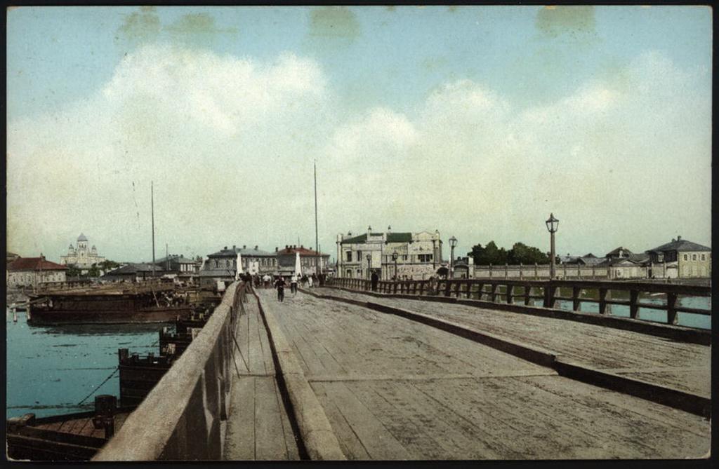 Вид города с Большого моста.