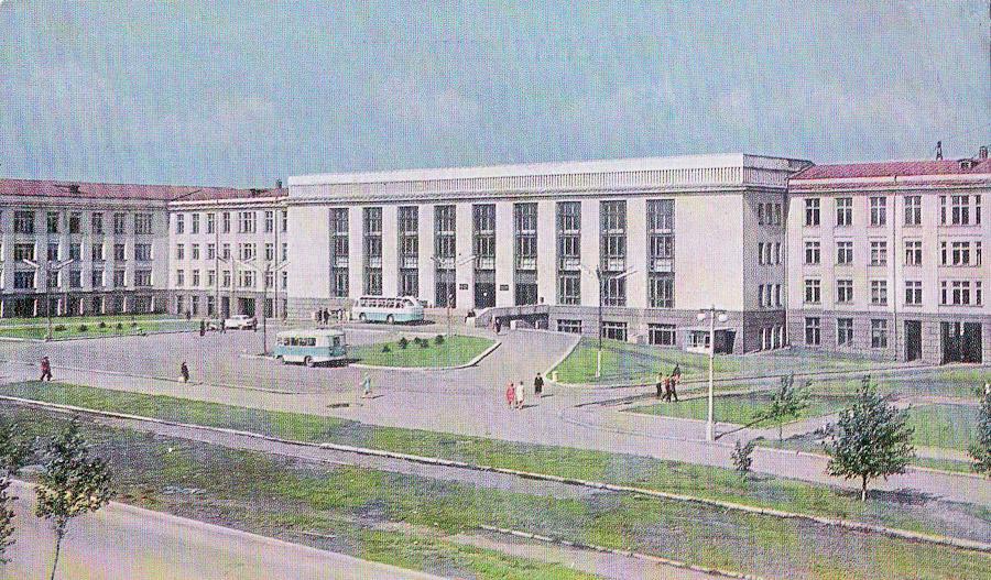 Здание Иркутского политехнического института (ныне ИрГТУ)