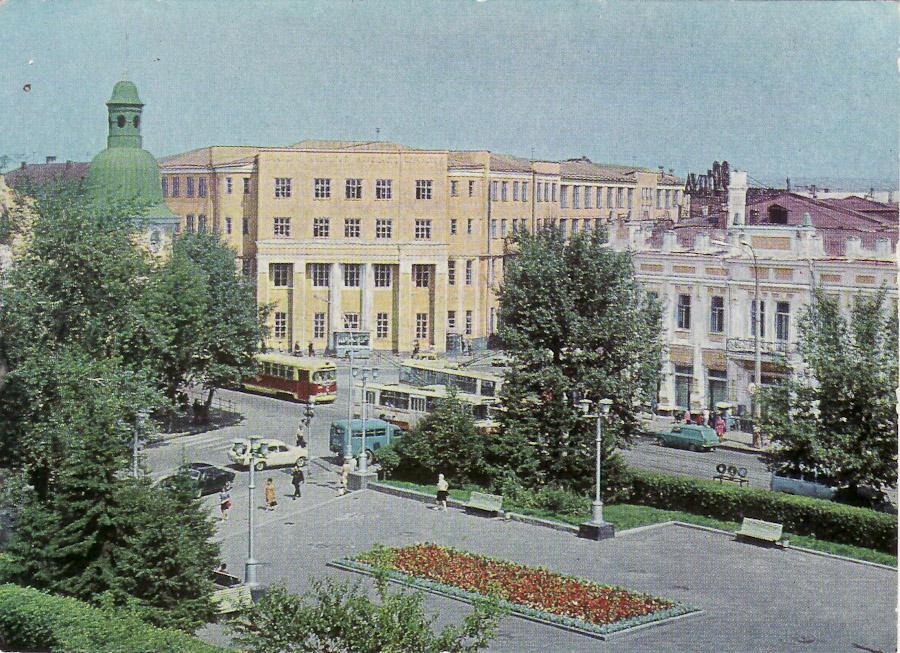 Иркутск. Институт народного хозяйства (Нархоз, ныне Байкальский государственный университет экономики и права). 1977 год