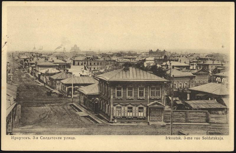 По улице 3-й Солдатской (Грязнова), на участке между улицами Преображенской (Тимирязева) и Подгорной, располагались два дома, принадлежавшие Еврейскому Обществу.