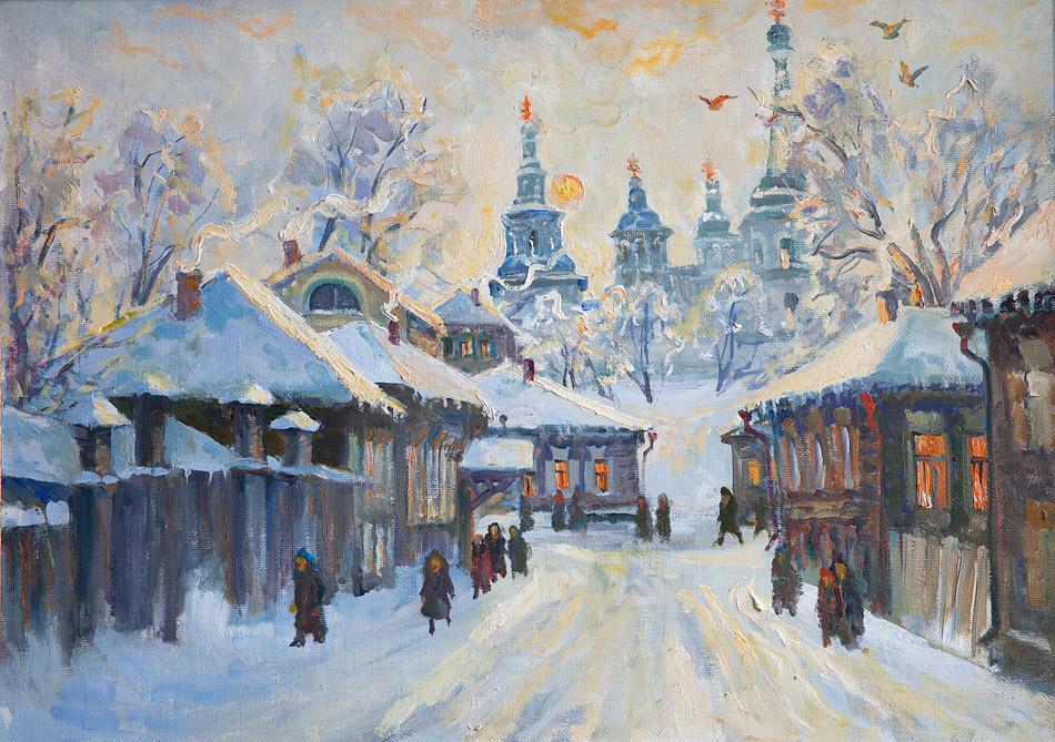 Зима. 2009, х. м., 68х95
