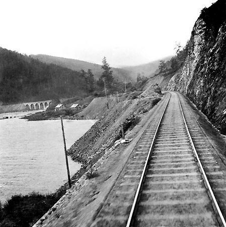 Кругобайкальская железная дорога. 1904 г.