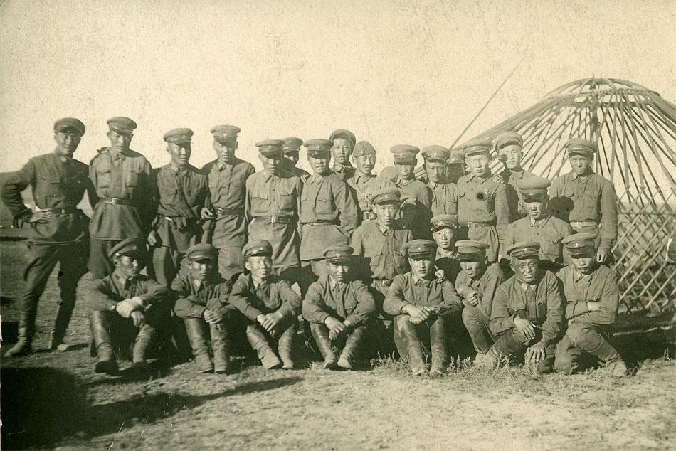 Монгольская народно-революционная армия (МНРА). Фотография 1938-1939 года
