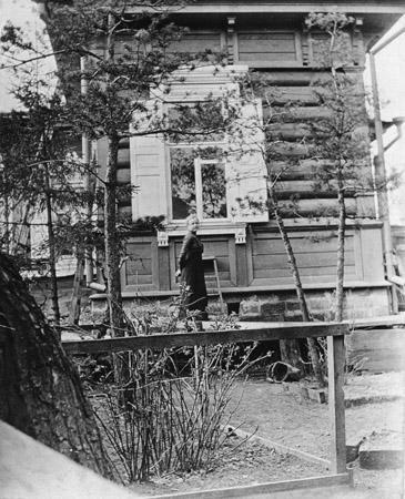 Предположительно Иркутск, 1905 г. Стереоснимок. Из коллекции иркутского антикварного магазина С.А.Снарского.