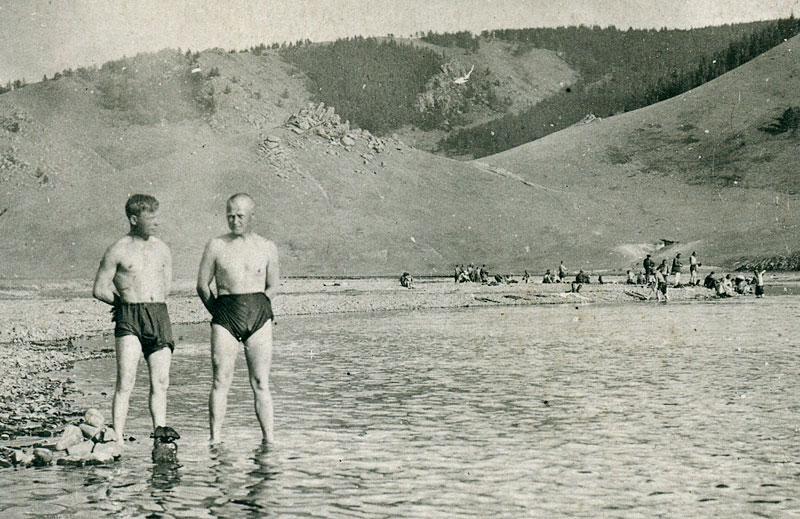 Монголия. Красноармейцы на отдыхе (1938 год ?)