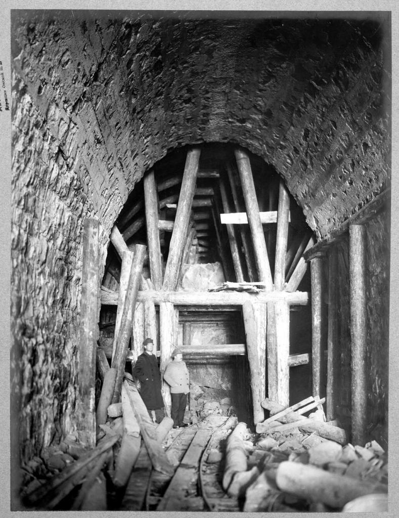 Разработка тоннеля.