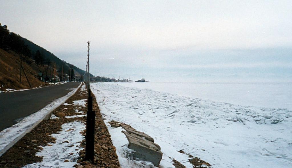 Байкал. Вид озера в районе Листвянки