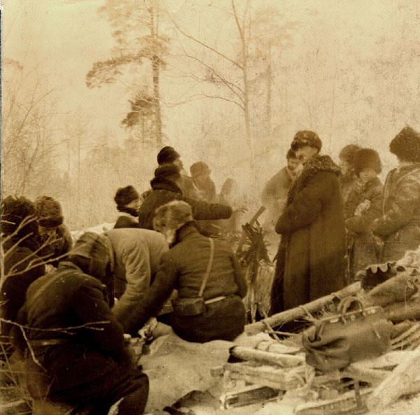 За деревней Худяково. 1905 г.