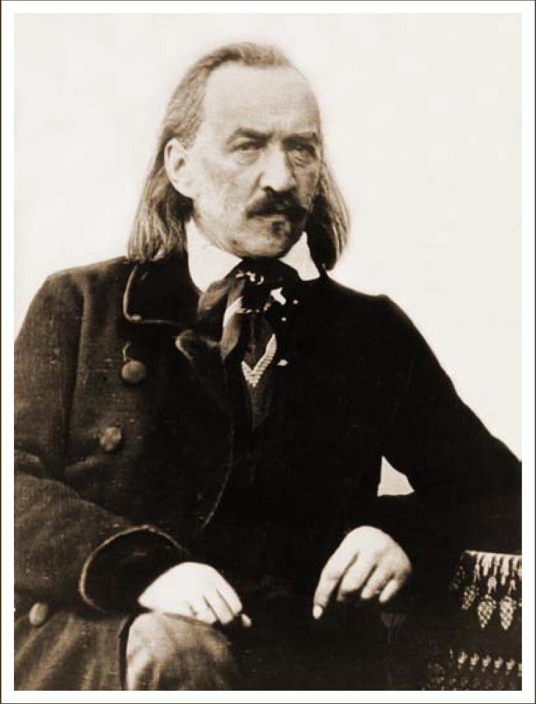Декабрист С. Г. Волконский. Дагерротип А. Давиньона. Иркутск. 1845 г.