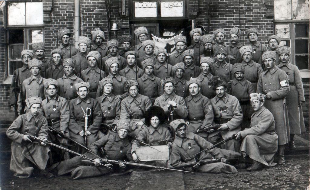 1 рота 1 стрелкового полка. Иркутск. 1919