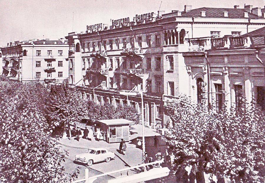 Иркутск. Жилой дом на ул. Карла Маркса 1966г
