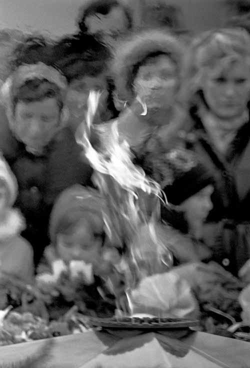 9 мая 1985 года. Вечный огонь