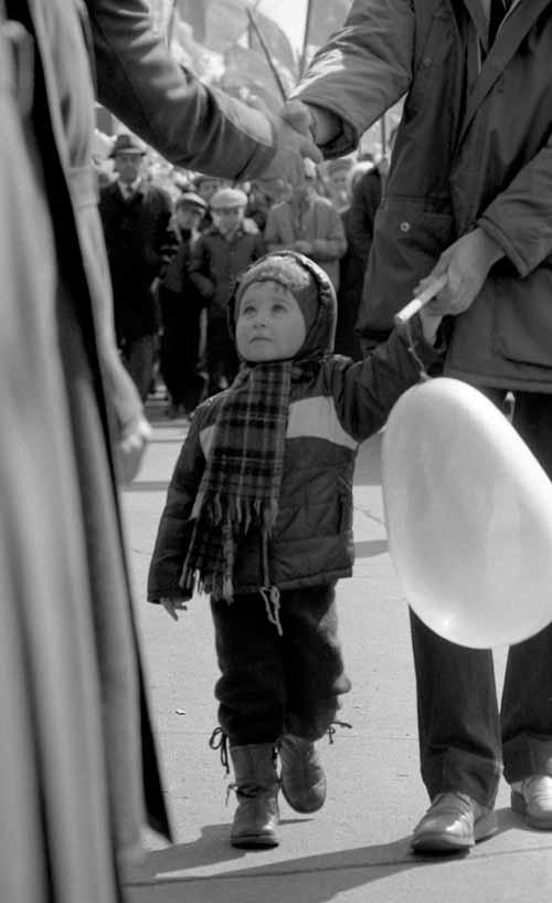 Воспоминание о демонстрации. Город Иркутск 1986 год