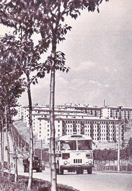 г. Иркутск. Новый район - ул. Байкальская 1966 г.