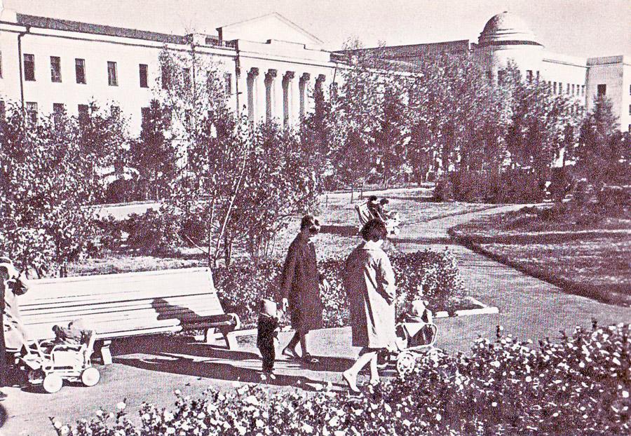 г. Иркутск. Бульвар им. Ю.А. Гагарина. 1966