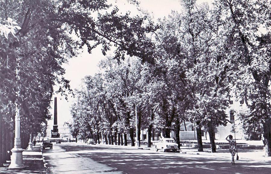 Иркутск. Начало улицы Карла Маркса. 1968