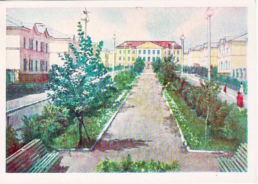 Иркутск. Посёлок Кузьмиха. 1963