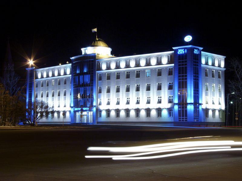 Здание Иркутскэнерго
