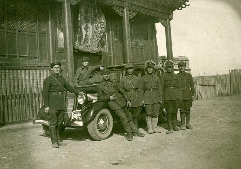 МНРА и РККА фотография на память. Монголия 1938-1939 гг