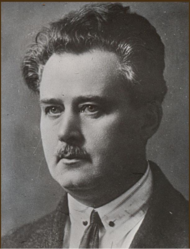 Первый ректор Иркутского университета М. М. Рубенштейн.