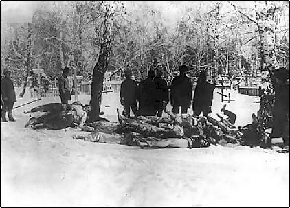 На рассвете 18 июня 1918 г. членов Совета вывели за город (якобы для отправки в Тулун) и расстреляли.