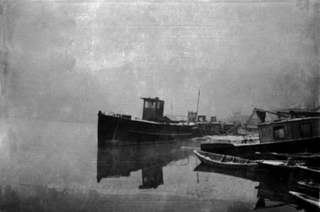 Туман на Ангаре. Иркутск. 1934 г.