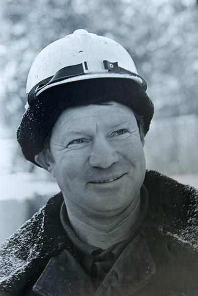 Павел Федорович Дворовкин - первостроитель, почетный гражданин г. Саянска.