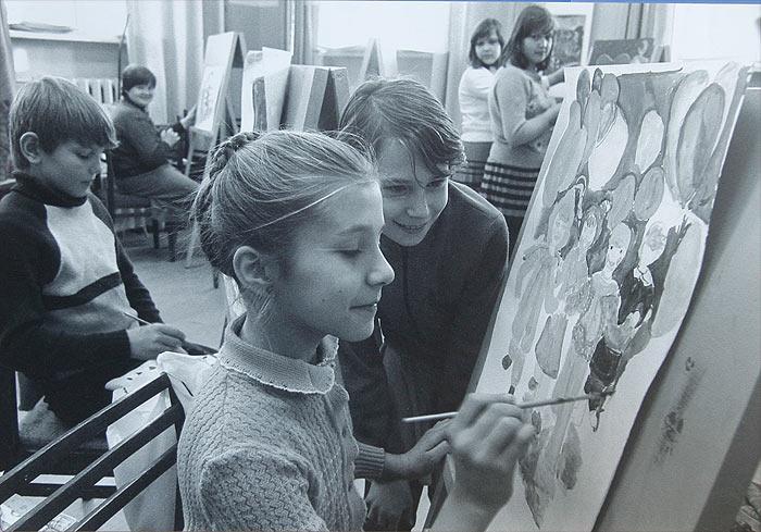 Саянская детская художественная студия, 1978 год. История Саянска.