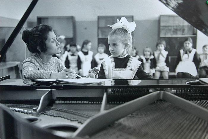 Саянская детская музыкальная школа №1, 1980г.