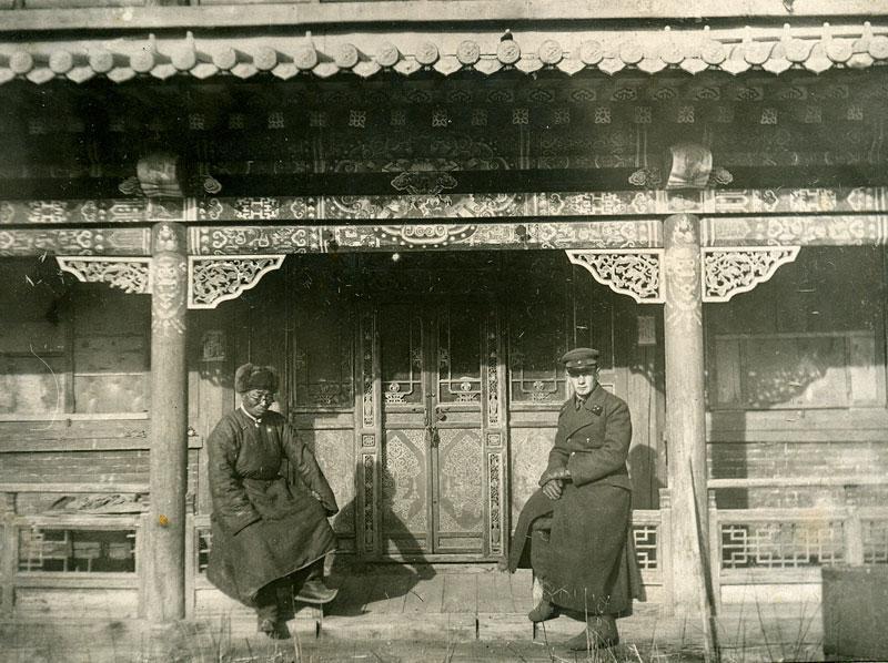 Старое фото. Монастырь Гандан, Монголия