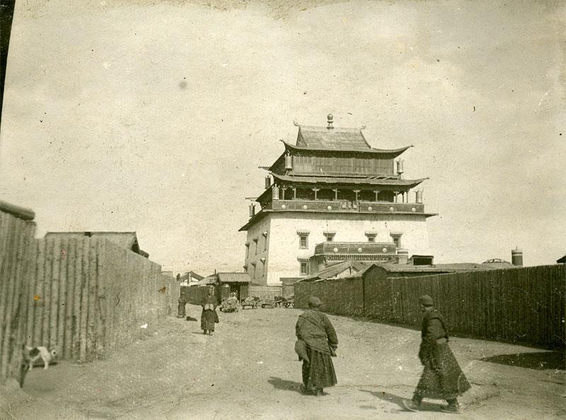 Улан-Батор. Монастырь Гандан, 1938-1939 год