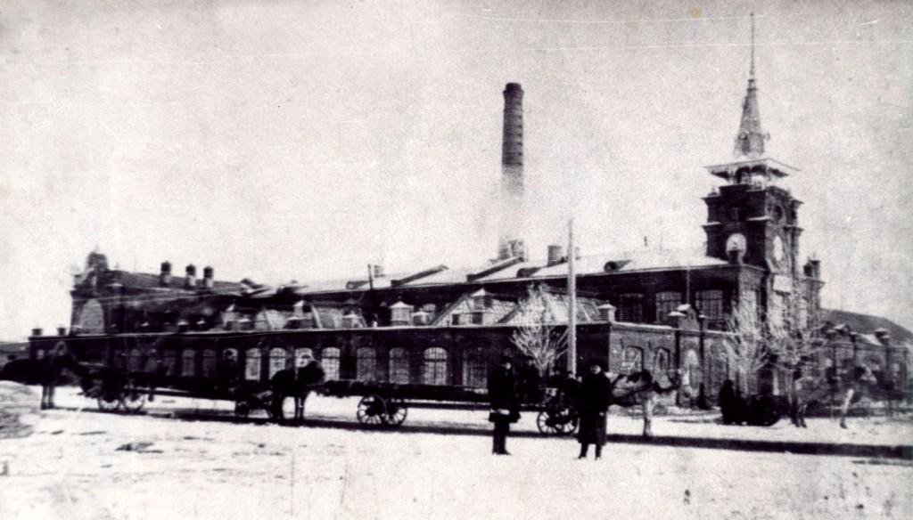 Ещё одно фото спичечной фабрики в с. Усолье. 1915 год.