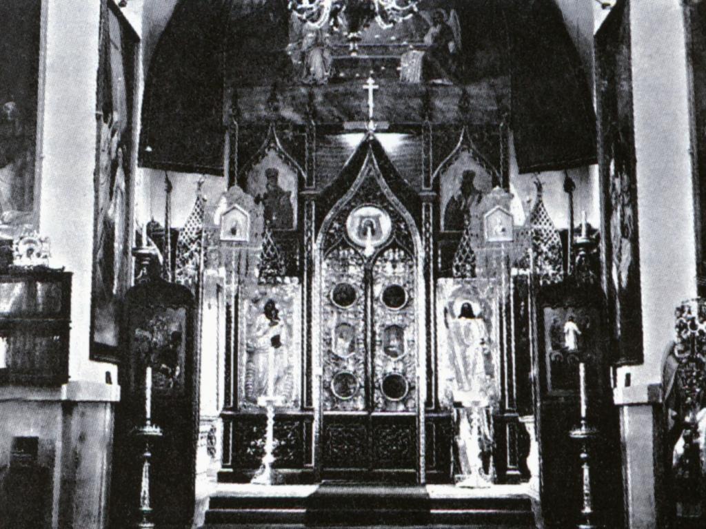 Алтарь Спасской церкви в с. Усолье