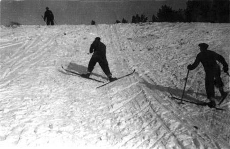 Иркутск. Кайская гора. 1940 г.