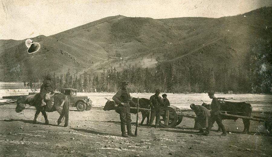 Красная армия (РККА), Монголия. Заготовительные работы