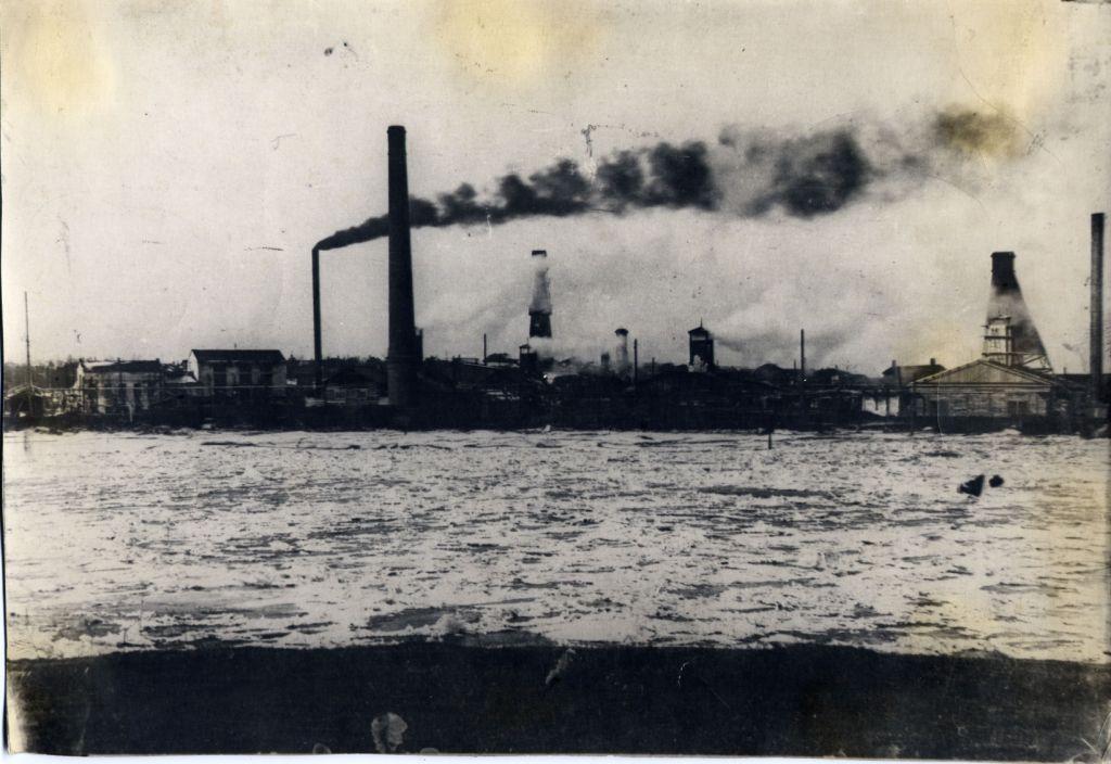 Вид солеваренного завода в с Усолье.