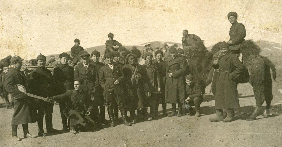 Красная армия (РККА) в Монголии. Накануне Халхин-Гольских событий (1938 год ?). Быт