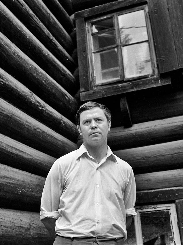 Валентин Распутин. Дом на берегу Ангары, 1970-е годы