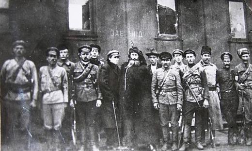 Штаб Н.А. Каландаришвили в г. Иркутске