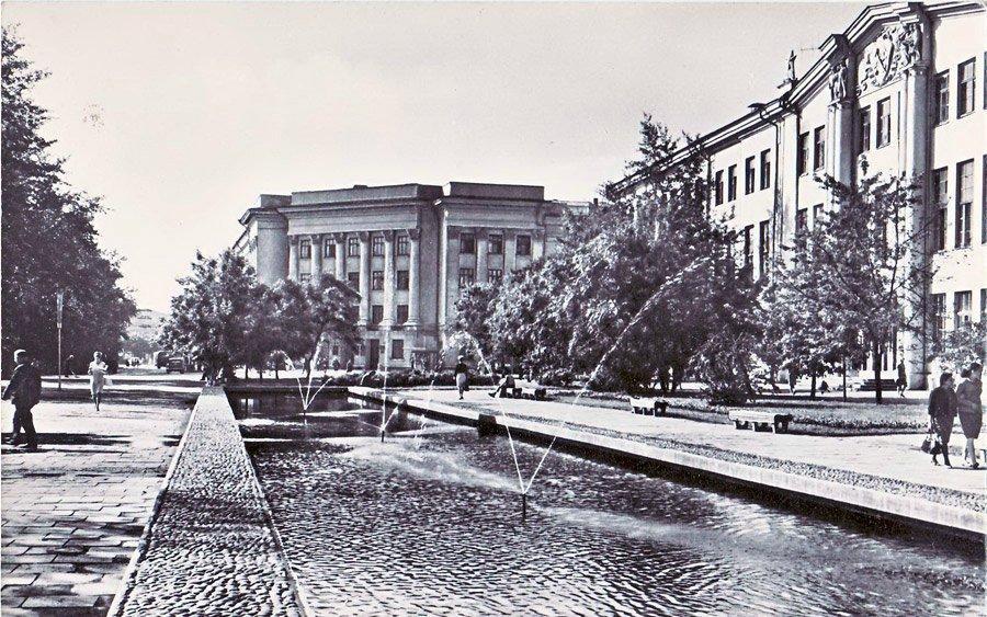 Жилой дом на ул. Карла Маркса 1966г