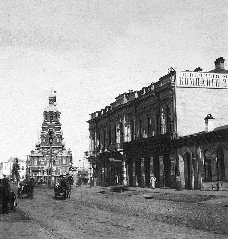 Благовещенская церковь на ул. Большой (Карла Маркса). Ныне утрачена