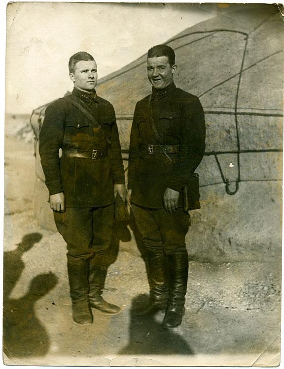 Младшие командиры Красной армии (РККА) в Монголии (1938 ?)