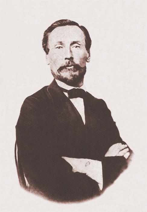 Скаржинский, политический ссыльный Фото А. К. Гофмана. 1865. Собрание ИОКМ