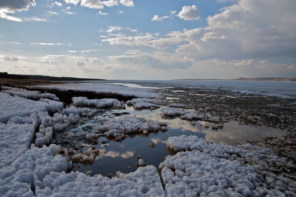 Весна на Братском водохранилище